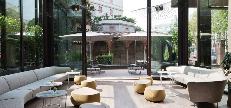 Eco friendly hotel near milano centrale starhotels e for Designhotel mailand