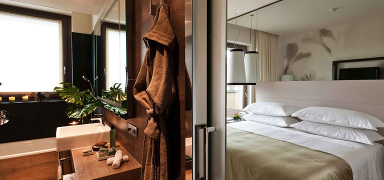 Eco friendly green hotel in Milan | Starhotels E.c.ho. - photo 1