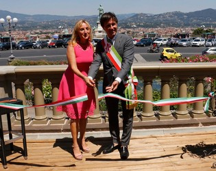 PIAZZALE MICHELANGELO REDISCOVERS THE SPLENDOR OF ITS HISTORIC BALUSTRADE
