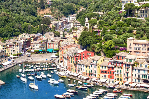 Tour of Genoa and day trip to Portofino
