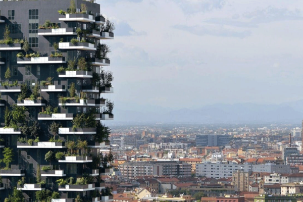 Tour of the new architecture in Milan