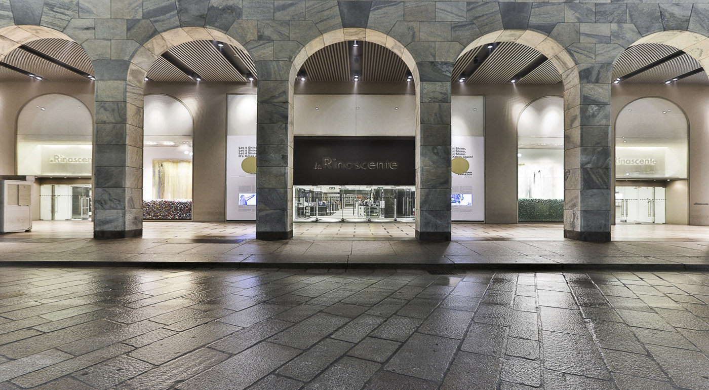 Milan boutiques milan shopping street starhotels rosa for Hotel la rinascente paola