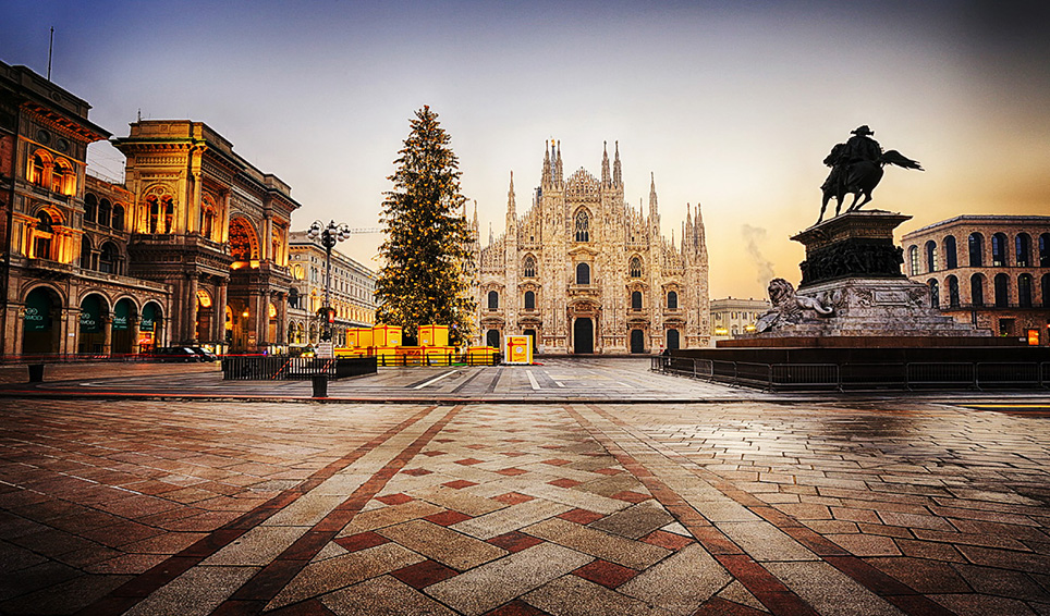 Christmas in Milan in 5 steps