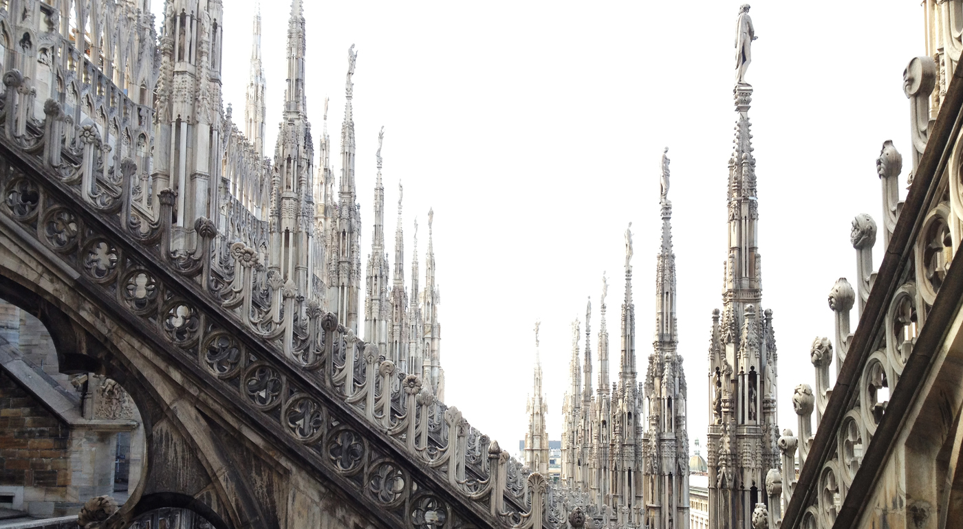 The Steeples of Milan Cathedral