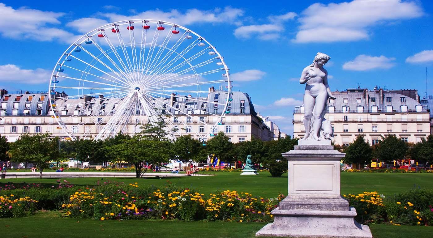 Giardino delle tuileries giardini di luxembourg parigi for Jardin jardin tuileries
