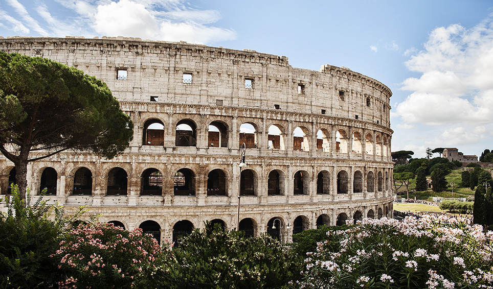 The new Colosseum
