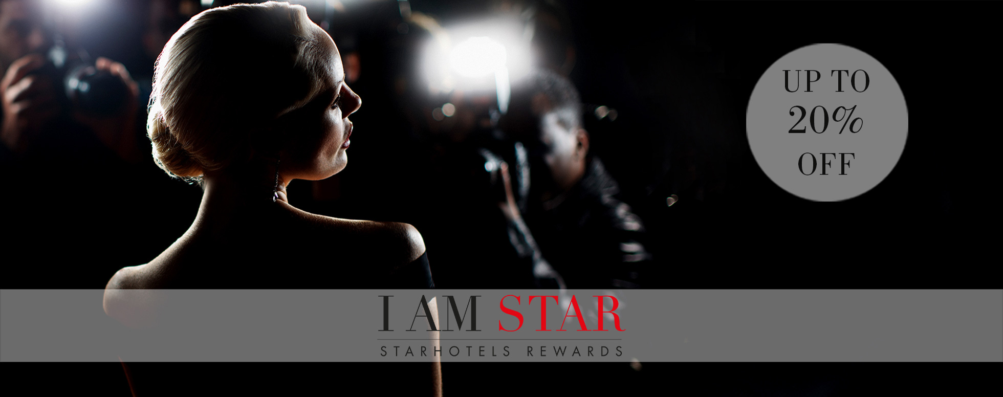 JOIN I AM STAR and get  up to 20% off!
