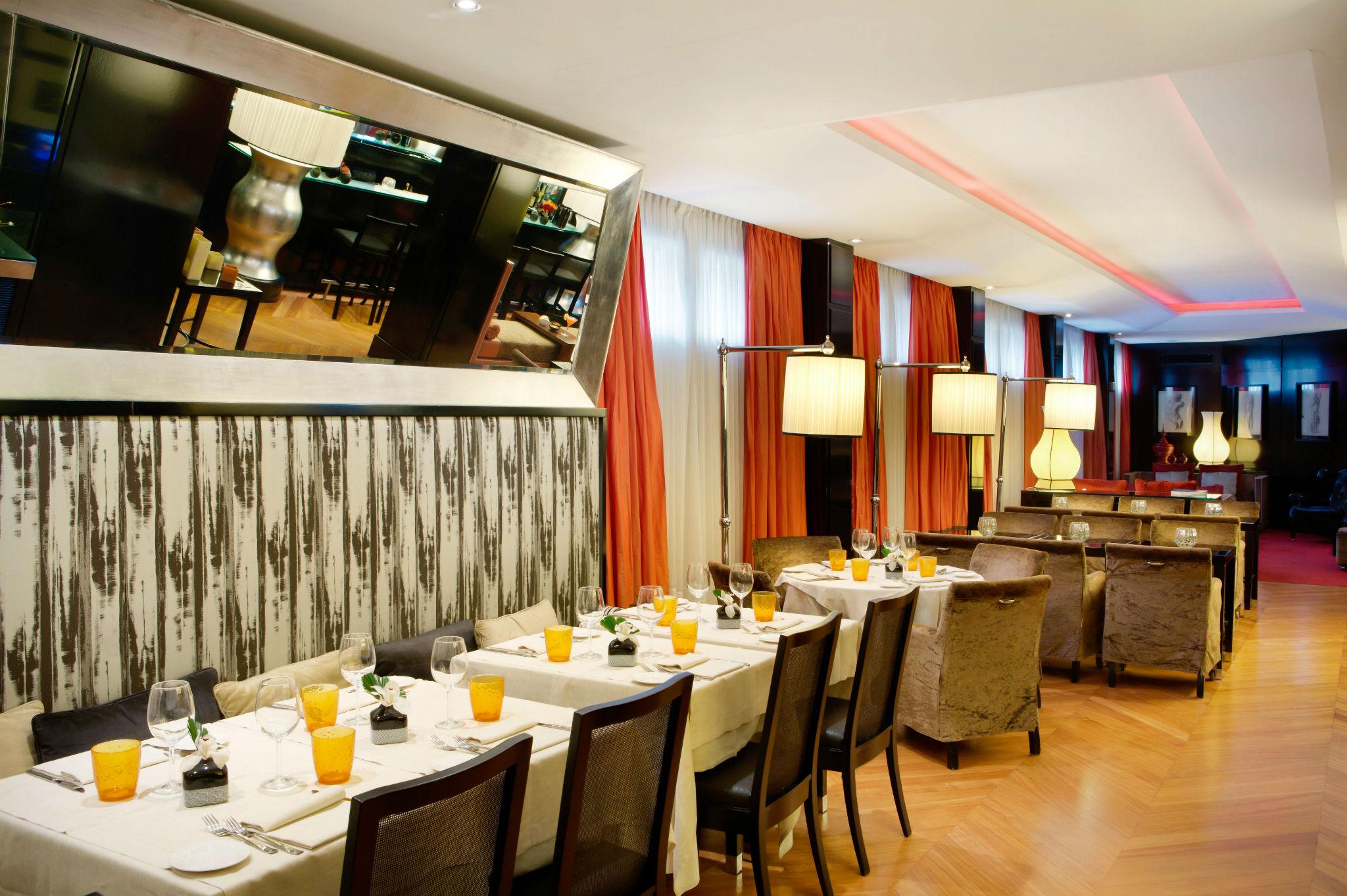 Black Restaurant Restaurants Milan Starhotels Anderson