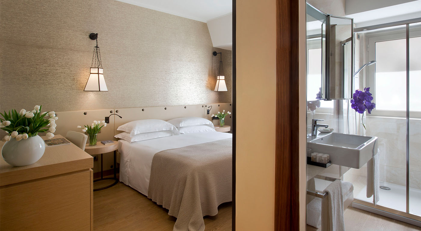 Camera executive hotel 4 stelle roma centro starhotels for Camera roma