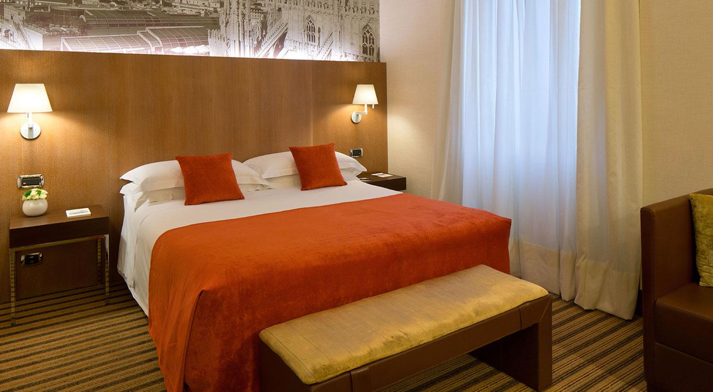 Camera Deluxe Hotel 4 Stelle Milano Centro Starhotels Ritz