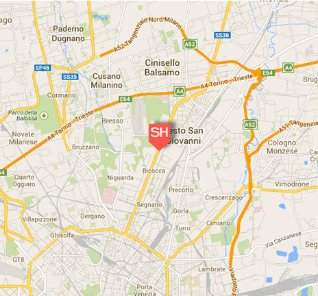 Milan best hotel in Bicocca district Starhotels Tourist